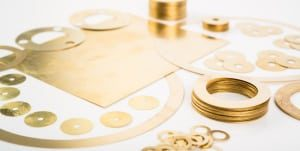 Brass Shim Washer from Stephens Gaskets