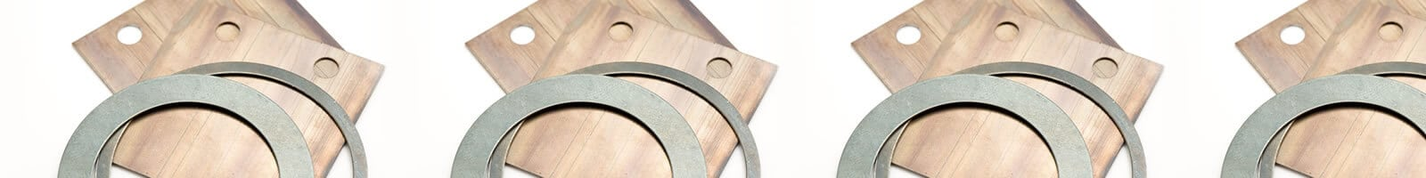 Spring steel washers
