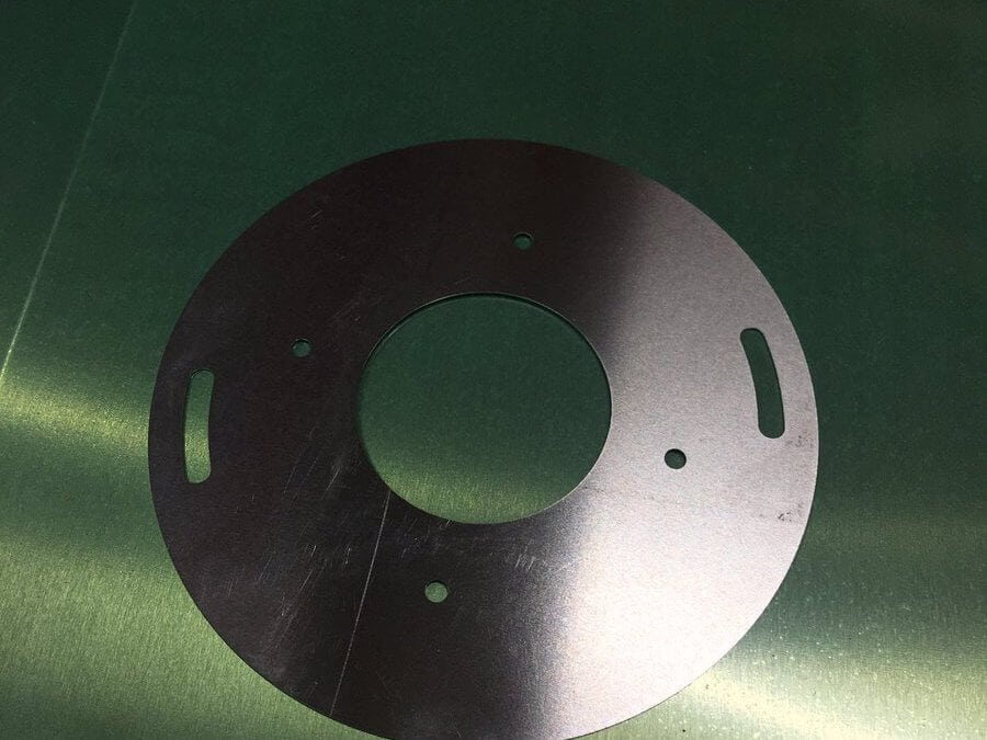 Laser cut foil components at Stephens Gaskets