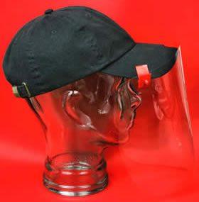 Plastic visors